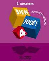BIEN JOUE! 4 CASSETTES AUDIO CLASSE /2/