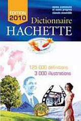 DICTIONNAIRE HACHETTE 2011