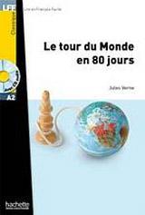 LFF A2 LE TOUR DU MONDE EN 80 JOURS + CD AUDIO