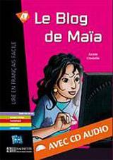 LFF A1 LE BLOG DE MAIA + CD AUDIO
