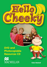 Hello Cheeky DVD & Photocopiables CD-ROM