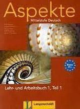 Aspekte 1 in Teilbänden Lehr- und Arbeitsbuch Teil 1 mit Audio CD