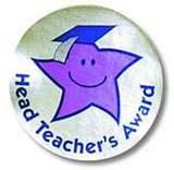 Hvězda třídního učitele - 38mm nálepka