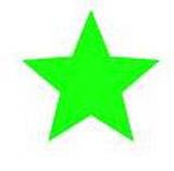 Samobarvící razítko s dlouhou životností - zelená