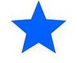 Samobarvící razítko s dlouhou životností - modrá