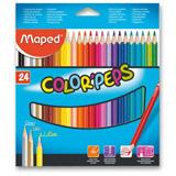 Maped Color´Peps - souprava pastelek - 24 barev