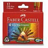 Faber-Castell - trojhranné voskovky - 12 barev