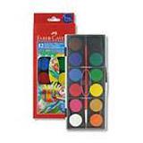 Faber-Castell - vodové barvy - 12 barev