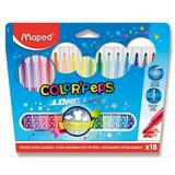 Maped Color Peps - barevné fixy - 18 barev