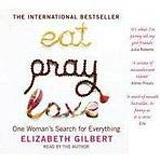 EAT PREY LOVE AUDIO CD