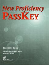 NEW PROFICIENCY PASSKEY Teacher´s Book