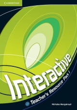 Interactive 1 Teacher´s Resource Pack