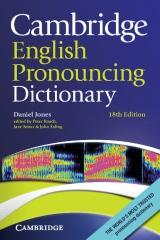 Cambridge English Pronouncing Dictionary, 18th edition Paperback