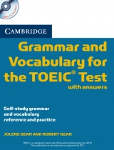 Cambridge Grammar and Vocabulary for TOEIC Paperback with answers and Audio CD
