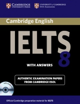 Cambridge IELTS Self-study Pack 8 (Student´s Book with answers and Audio CDs (2))