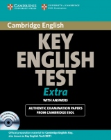 Cambridge Key English Test Extra Self-study Pack (Student´s Book with Answers, Audio CD and CD ROM)