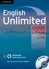 English Unlimited Advanced Self-study Pack (Workbook with DVD-ROM)
