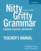 Nitty Gritty Grammar, Second edition Teacher´s Manual