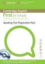 Speaking Test Preparation Pack for First Certificate in English (FCE) for Schools with DVD