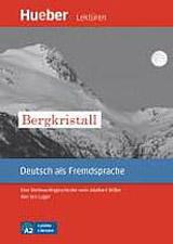 Leichte Literatur A2: Bergkristall, Leseheft