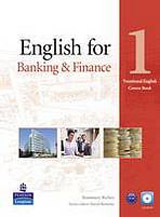 English for Banking and Finance Level 1 Coursebook with CD-ROM