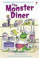 Usborne Very First Reading: 13 Monster Diner