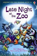 Usborne Very First Reading: 10 Late Night at the ZOO