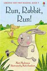 Usborne Very First Reading: 9 Run Rabbit Run