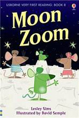 Usborne Very First Reading: 8 Moon Zoom