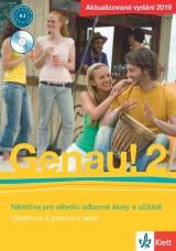 Genau! 2 - Učebnice s pracovním sešitem a Audio CD