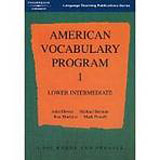 AMERICAN VOCABULARY PROGRAM 1