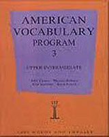 AMERICAN VOCABULARY PROGRAM 3