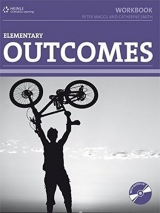 OUTCOMES ELEMENTARY WORKBOOK WITH KEY + CD