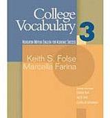COLLEGE VOCABULARY 3 BOOK