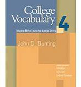 COLLEGE VOCABULARY 4 BOOK