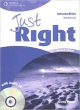 JUST RIGHT (2nd Edition) INTERMEDIATE WORKBOOK + WORKBOOK AUDIO CD