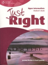 JUST RIGHT (2nd Edition) UPPER INTERMEDIATE STUDENT´S BOOK