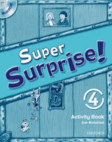 Super Surprise 4 Activity Book with Multi-ROM