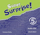 Super Surprise 5 Class Audio CD