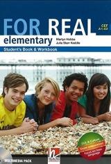 FOR REAL Elementary Level Student´s Pack (Starter + Student´s Book / Workbook + Links + CD-ROM + Links CD)