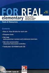 FOR REAL Elementary Level Tests & Resources + Testbuilder CD-ROM / Audio CD