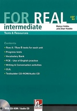 FOR REAL Intermediate Level Tests & Resources + Testbuilder CD-ROM / Audio CD