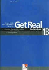 GET REAL COMBO 1B Teacher´s Book B + Audio CD