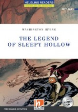 HELBLING READERS Blue Series Level 4 The Legend of Sleepy Hollow + Audio CD (Washington Irving)