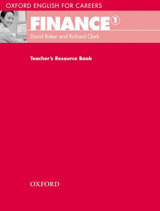 Oxford English for Careers Finance 1 Teacher´s Resource Book