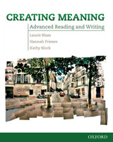 Creating Meaning Student Book