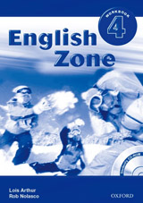 English Zone 4 Workbook with CD-ROM ( International English Edition)