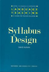 Language Teaching Syllabus Design