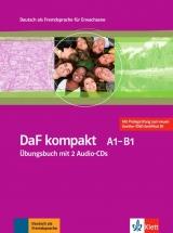 DaF kompakt A1-B1 Übungsbuch mit 2 Audio-CDs