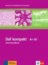 DaF kompakt A1-B1 Lehrerhandbuch